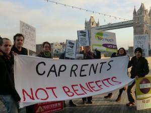 Cap rents not benefits