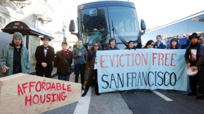 'Eviction forces us to make a choice. We can be afraid or we can beready'