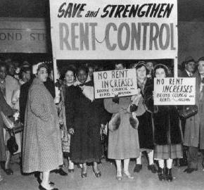 Private rents & rent control – housing is not a designer handbag