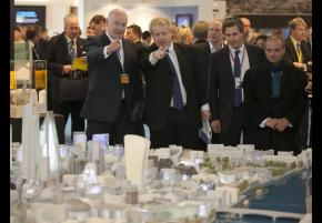 Children in decaying houses whilst councillors drink champagne at property investor fair in Cannes…