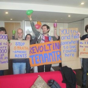 Renters occupy luxury flat in Elephant and Castle