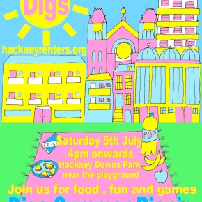 Join us for the Digs Summer Picnic – 5th July 2014