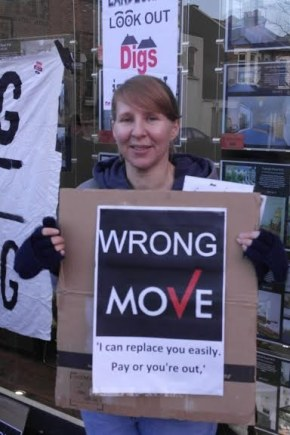 Standing up to greedy lettingagents!