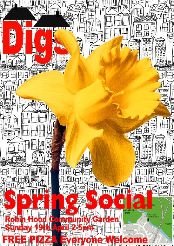 Spring social poster copy